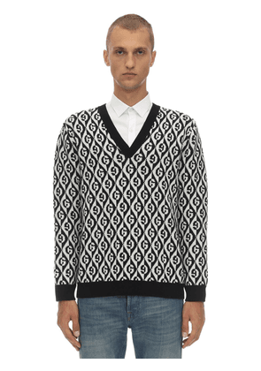 Gg Wool Jacquard  Sweater