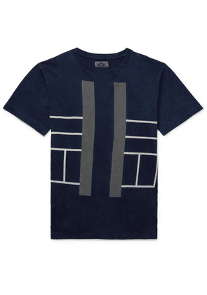 Blue Blue Japan - Indigo-dyed Cotton-jersey T-shirt - Blue