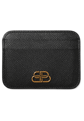 Balenciaga - Bb Textured-leather Cardholder - Black