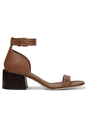 Burberry - Leather Sandals - Brown