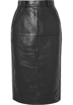 we11done - Faux Leather Skirt - Black
