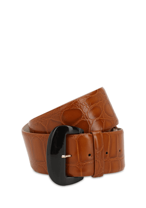 55mm Faux Crocodile Belt