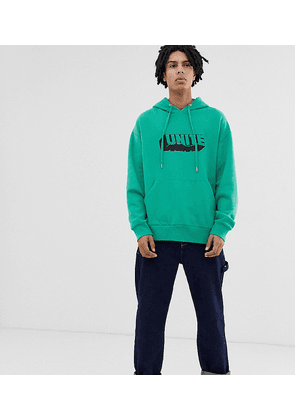COLLUSION oversized hoodie with print