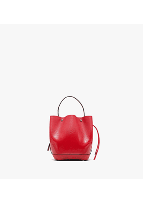 Milano Mini Drawstring Bag In Patent Goat Leather