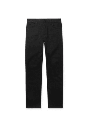 The Row - Irwin Organic Cotton-blend Denim Jeans - Black