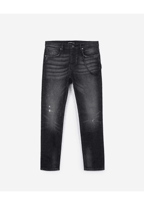 The Kooples - skinny black jeans - black