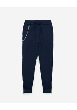 The Kooples - navy neoprene joggers - navy