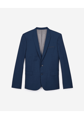 The Kooples - fit jacket - blu