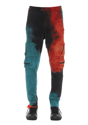 Tie Dyed Cotton Pants