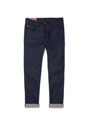 Acne Studios - River Tapered Stretch-denim Jeans - Indigo
