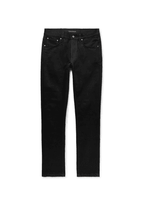 Nudie Jeans - Lean Dean Slim-fit Stretch-denim Jeans - Black