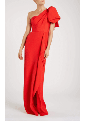 Belhaven Gown - 8 / Bright Red