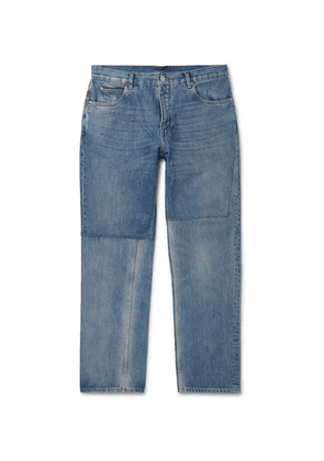 Martine Rose - Slim-fit Panelled Denim Jeans - Blue