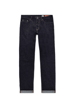 Jean Shop - Bowie Slim-fit Selvedge Denim Jeans - Dark denim