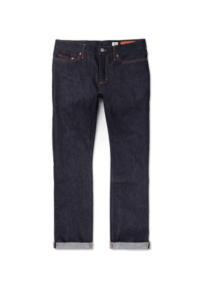 Jean Shop - Bowie Slim-fit Raw Selvedge Denim Jeans - Indigo