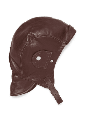 Connolly - + Goodwood Leather Driving Helmet - Brown
