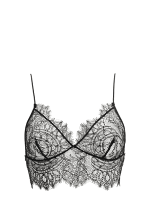 Dawn Pull-on Sheer Lace Triangle Bra