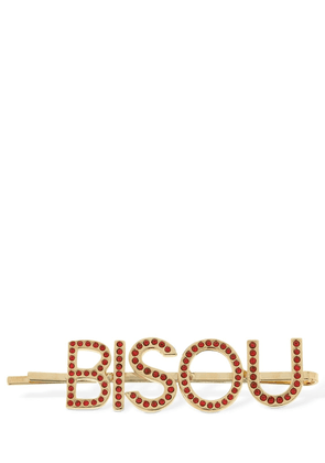 Bisou Embellished Hair Pin