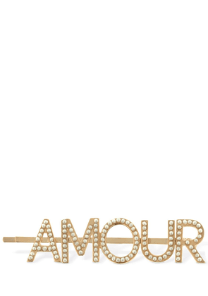 Amour Embellished Hair Pin