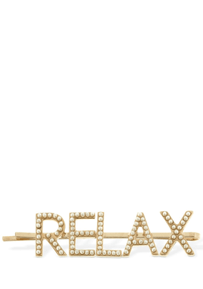 Relax Embellished Hair Pin
