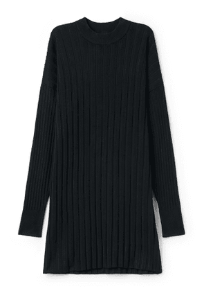 Ron Knitted Dress - Black