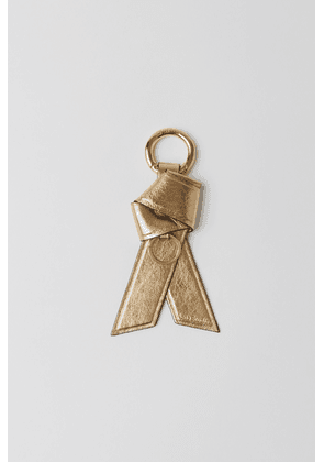 Acne Studios FN-WN-ACCS000045 Gold Leather key ring