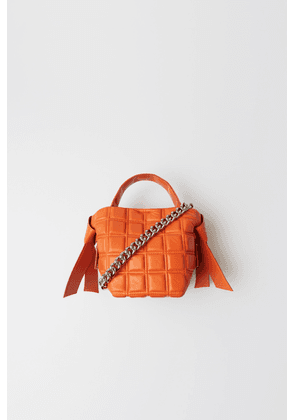 Acne Studios FN-WN-BAGS000081 Orange Mini quilted leather bag