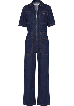 L.F.Markey - Danny Denim Jumpsuit - Dark denim