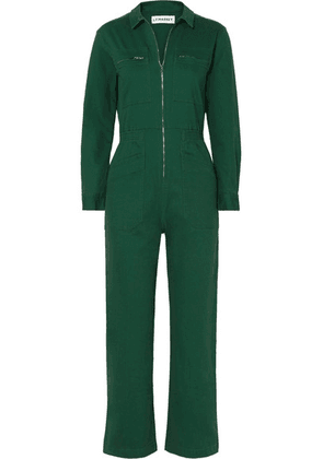 L.F.Markey - Danny Cotton-blend Drill Jumpsuit - Green