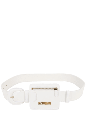 40mm Le Porte Ceinture Leather Belt
