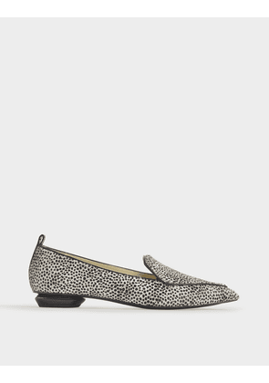 18mm Beya Loafers in Leopard Printed Haircalf