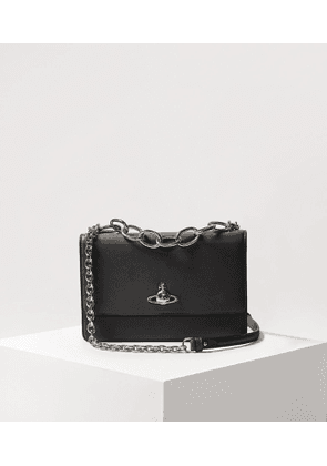 Florence Large Bag With Flap Black