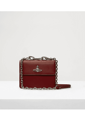 Florence Medium Bag With Flap Red
