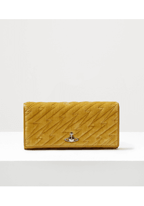 Coventry Long Card Holder Yellow