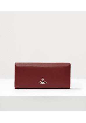 Florence Long Card Holder Red