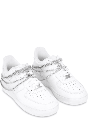 Air Force 1 Bridal Sneakers W/ Swarovski