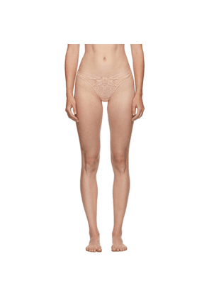 Agent Provocateur Pink Essie Thong