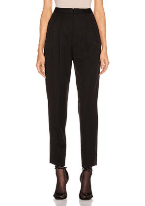Saint Laurent Tailored Pant in Black - Black. Size 36 (also in 34,42).