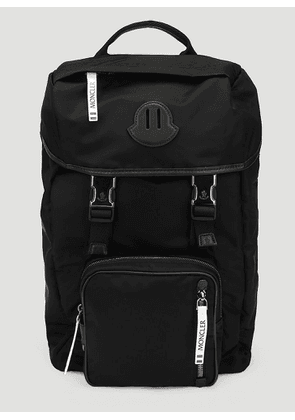 Moncler Nylon Chute Backpack in Black size One Size