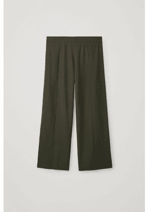 LONG LOOSE-FIT TROUSERS