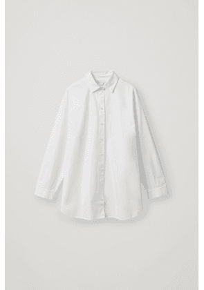 OVERSIZED SHIRT WITH SIDE PLACKETS