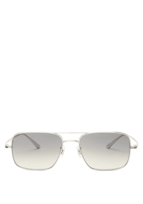 The Row - X Oliver Peoples Victory La Square Sunglasses - Womens - Grey
