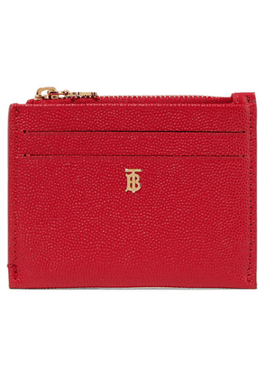 Burberry - Textured-leather Cardholder - One size
