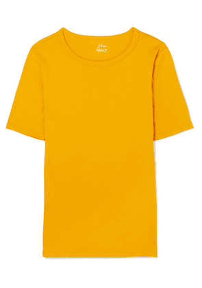 J.Crew - Perfect Fit Cotton-jersey T-shirt - Yellow