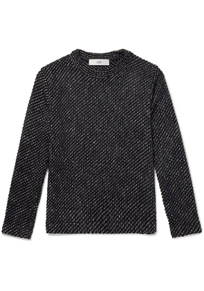 Séfr - Leth Knitted Sweater - Navy
