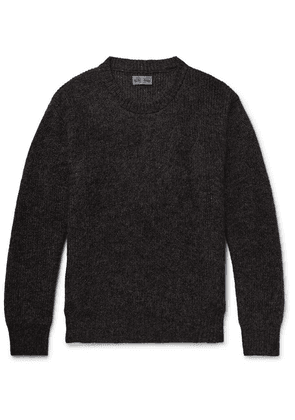 Blue Blue Japan - Mohair-blend Sweater - Charcoal