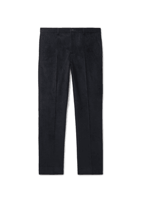 PS Paul Smith - Slim-fit Cotton-blend Corduroy Trousers - Navy