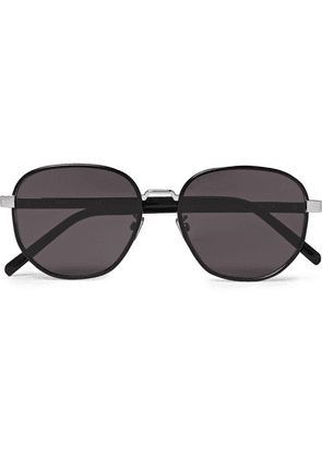 Berluti - Spectre Round-frame Acetate And Metal Sunglasses - Black