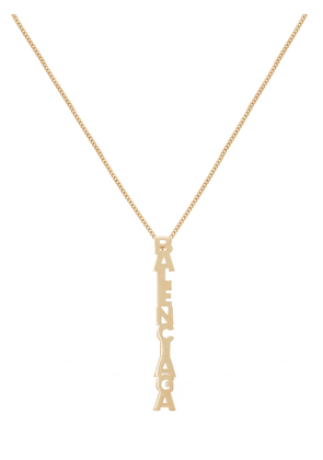 Logo Pendent Necklace