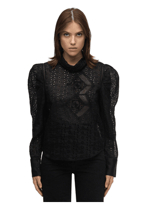 Qyandi Broderie Anglaise Shirt